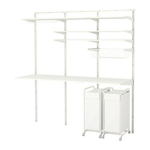 ALGOT Crémaillère/tablettes/séchoir  - IKEA