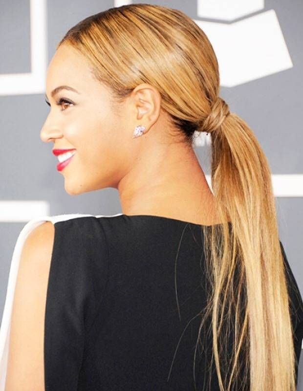 Channel your inner Beyonce and try this Wrap Around Pony Tail!