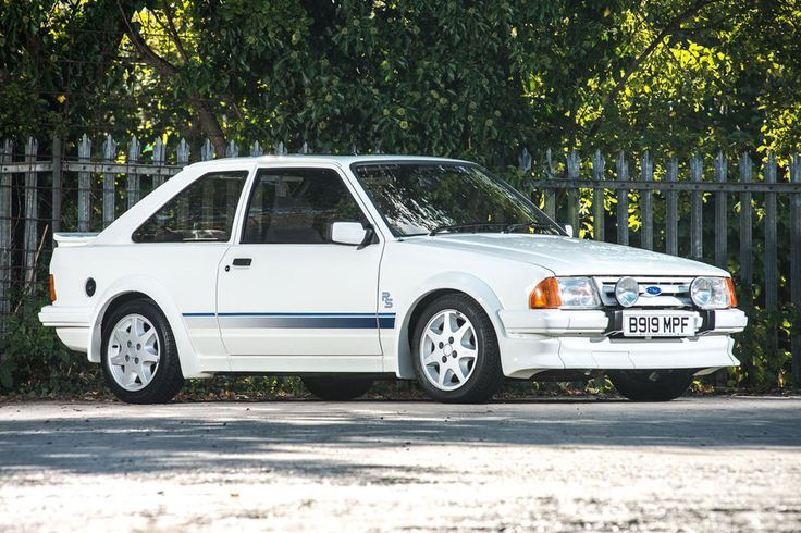 Ford Escort RS Turbo sold for £60,188