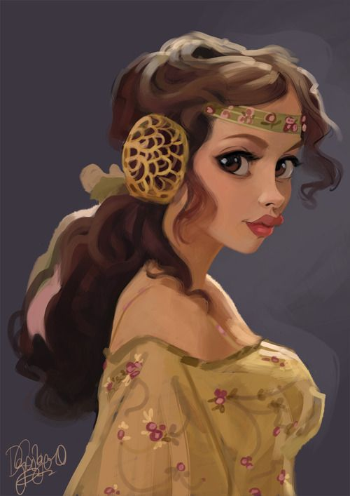 A Disney style Amidala