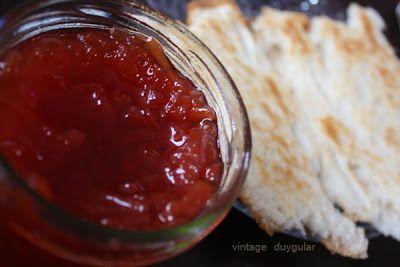 Nefis Ayva Reçeli tarifi  (Marmelat da olabilir ) - Homemade Quittenmarmelade