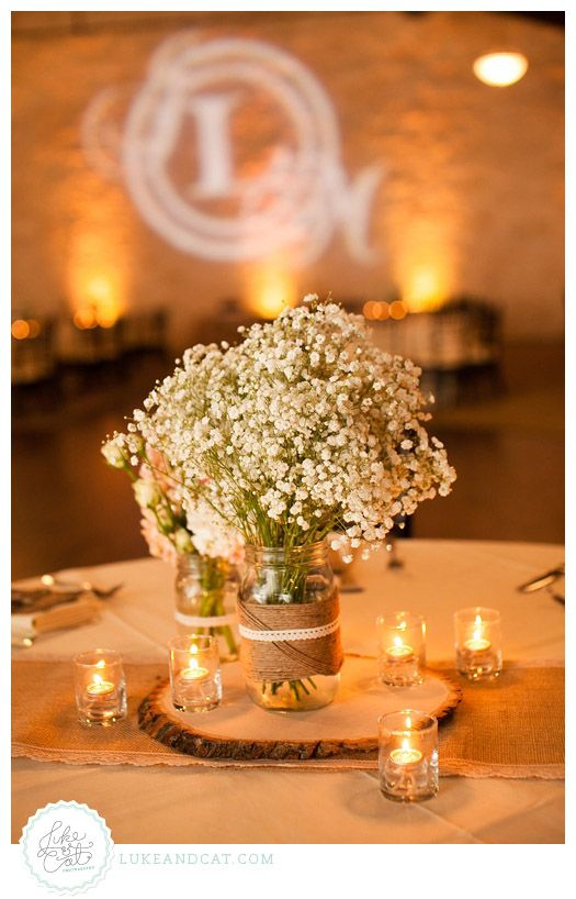 Country Wedding Centerpiece : Best ideas about rustic wedding centerpieces on