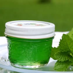 Mint Jelly The mint in my garden has come back with full force. I make this jelly every year. It is so easy and always turns out well. We like it with lamb, and on toast or biscuits. Think I'll grab a few mint leaves, mix me up a Mojito to sip and get busy making this jelly. YUM. If you have mint, this is what to do with it.