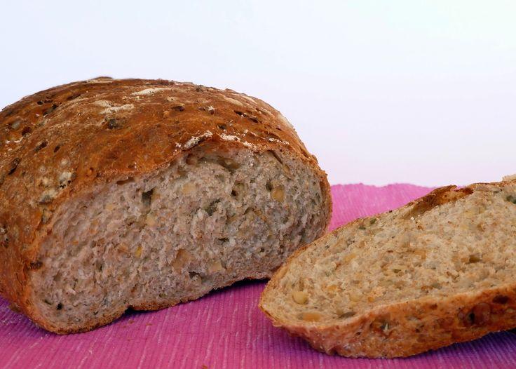 Una Fiera en mi cocina: Pan integral con semillas