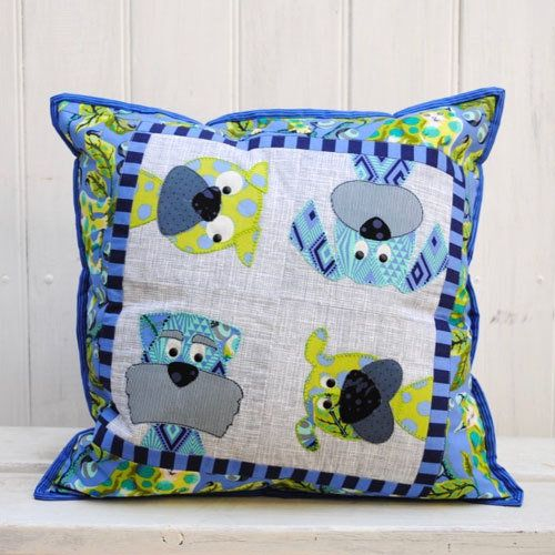 """""""Woofers"""" designed by Claire Turpin for Claire Turpin Designs."""
