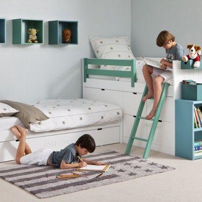 M s de 1000 ideas sobre camas dobles en pinterest camas - Habitaciones infantiles dobles ...