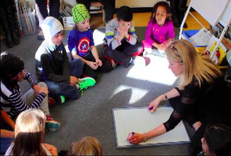 Doubles | Students organize doubles from 0 to 12 - watch as they begin to understand number patterns.
