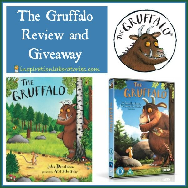 The Gruffalo Review & Giveaway - read my review of The Gruffalo books and DVDs. Enter for a chance to win your own copy of The Gruffalo book and DVD. {Ends Thursday 4/4, U.S. Only}