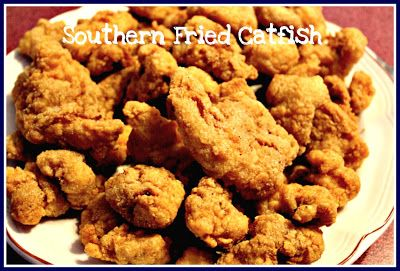 Sweet Tea and Cornbread: Southern Fried Catfish and Hushpuppies!