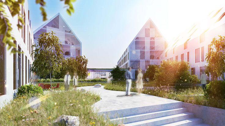 Finalist Proposal 'Aurora' for Odense University Hospital