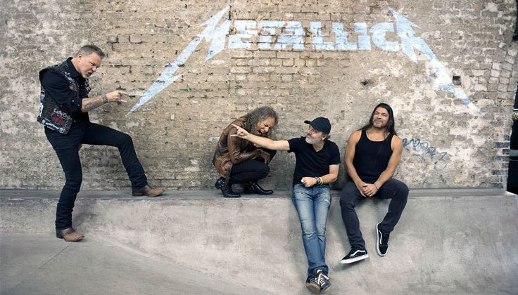 THANK YOU! - Metallica - Now that the four of us are back at home, getting settled and decompressing after one of the craziest, wildest and greatest weeks of our career, word has gotten to us over the weekend that Hardwired...To Self-Destruct is number one in a staggering 57 countries, Top 3 in 75 countries and Top 5 in 105 countries! We're not quite sure we can even name 105 countries! Photo by Ross Halfin