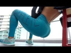 Michelle Lewin Workout: BootyBlaster - The Power of Ankle Weights - YouTube