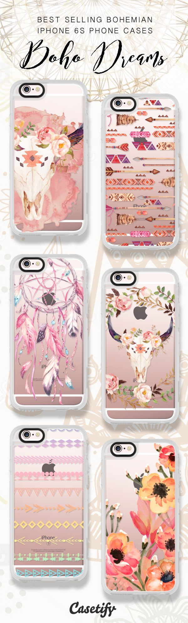 Best selling Bohemian iPhone 6/iPhone 7 phone cases here >>>…
