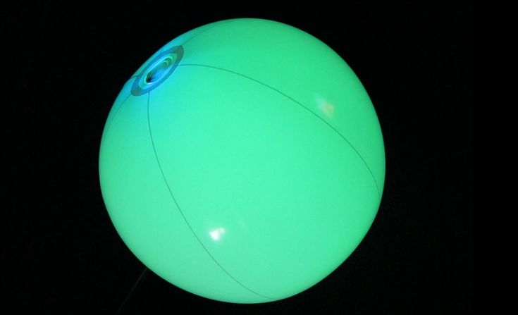 Glowing Beach Balls for your next Glow Pool Party! https://glowproducts.com/us/glow-beach-balls