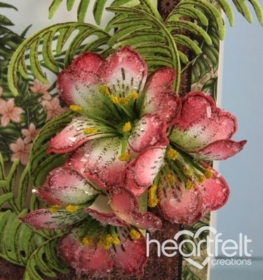 New Springtime Cards and a Preview of the Tropical Paradise Collection - Heartfelt Creations
