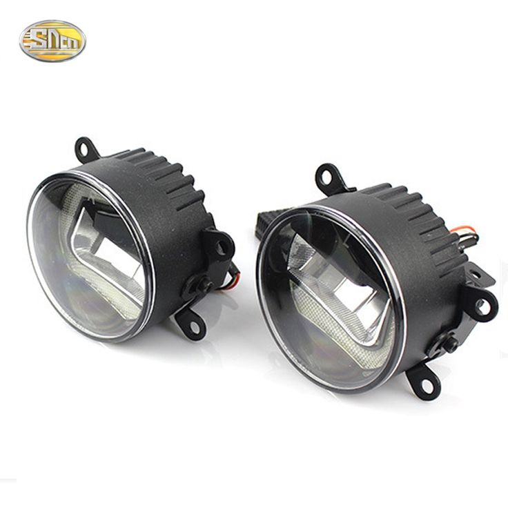 (76.50$)  Watch now  - High Brightness 90mm LED fog lamp for Mitsubishi ASX 2011~2017 Daytime Running Lights LED DRL