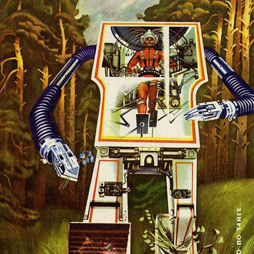 Japanese Sci Fi Art Iso50 Blog: 1000+ Images About Vintage / Retro Sci Fi Art On Pinterest