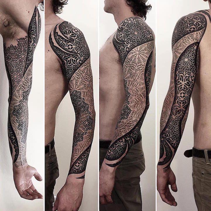 Les Tatouages géométriques de Brandon Crone (8)