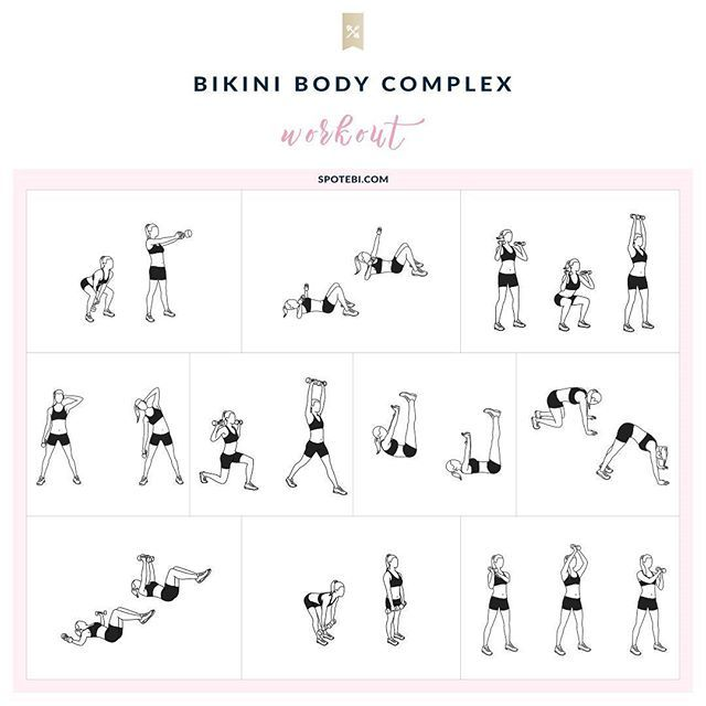 Slim down and firm up with this Bikini Body Complex designed to help you burn mega calories and deliver long-lasting results.  Turn on the music, get in the zone, push yourself hard, and focus on what you want the most! http://www.spotebi.com/workout-routines/bikini-body-complex-full-body-workout-for-women/ @spotebi #SpotebiBBC #Workout #WorkoutOfTheDay #Fitness #Healthy #Happy #Fit
