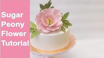 Tutorial Sweet Pea / Wicke / Edelwicke aus Blütenpaste - YouTube