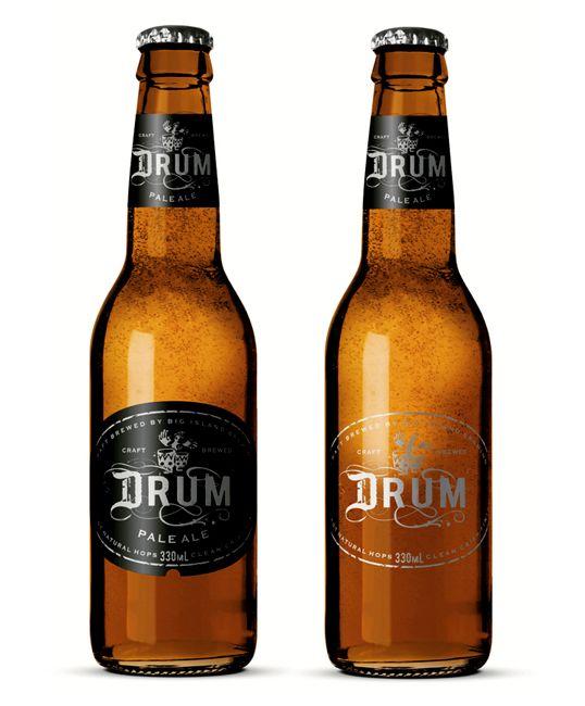 label / Drum - beer