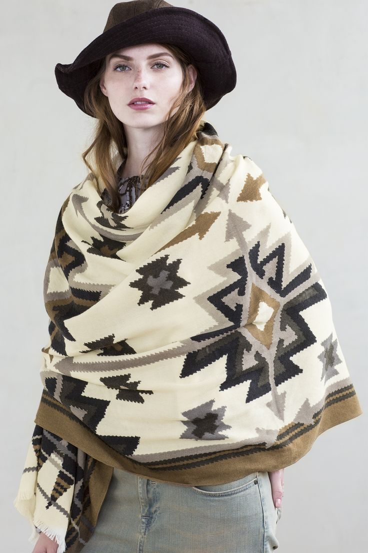 Glamping | Fall collection | Model | Photography | Scarf