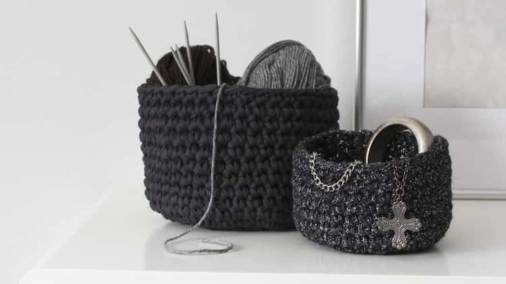 DIY crochet basket tutorial                                                                                                                                                     More
