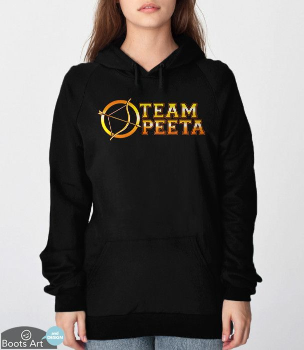 Show your love for your favorite boy with this Hunger Games Hoodie. Sweatshirts come in Unisex Adult Sizes.