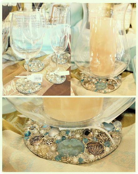 Centsational Girl » Blog Archive Easy and Elegant Craft: Jeweled Stemware - Centsational Girl