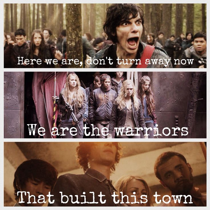 Warriors Imagine Dragons Soundtrack: 18 Best Images About The 100 On Pinterest