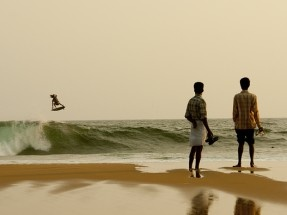 Craig Anderson, India. Photo: Burkard #SURFER #SURFERPhotos