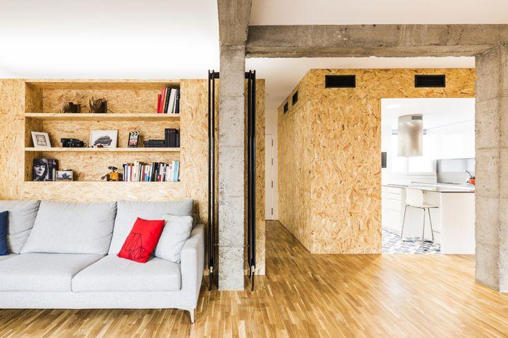 #hogarhabitissimo Madera y corcho: son materiales de construcción en seco por excelencia y sus virtudes son conocidas por todo el mundo. Entre las últimas tendencias, encontramos los paneles de madera OSB.