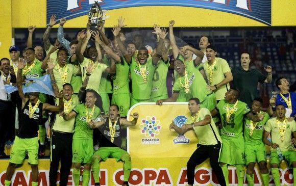 Nacional un ejemplo a seguir para los 19 equipos de la Liga Aguila