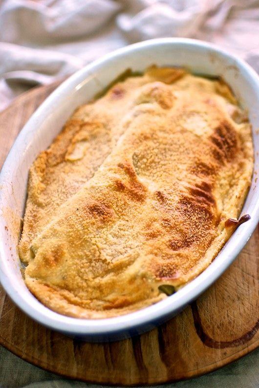 Puerros gratinados, receta italiana con Thermomix