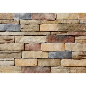ClipStone Ledgestone Poinset Flats 26-3/4 in. x 16 in. 8 sq. ft. Manufactured Stone (25-Piece per Carton) CSM.11.002.30 at The Home Depot - Mobile