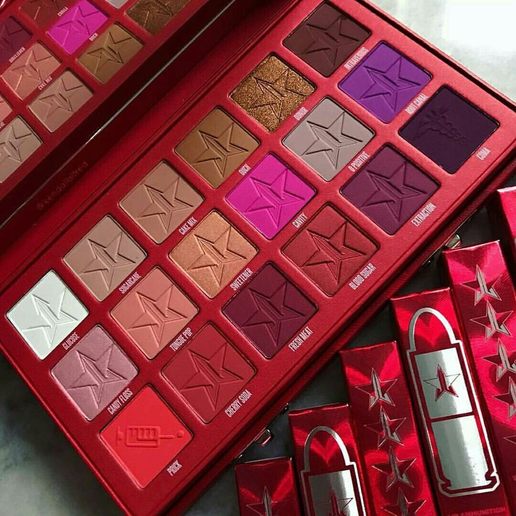 Pinterest @IIIannaIII  Jeffree Star *Blood Sugar* Palette