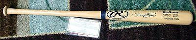 NEW! Sammy Sosa BIG STICK RAWLINGS BASEBALL Bat PSA/DNA 1A01300  GOLDIN COA MLB