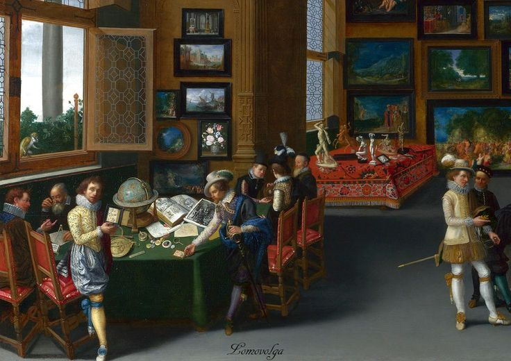 To See Apelles In His Painting Room