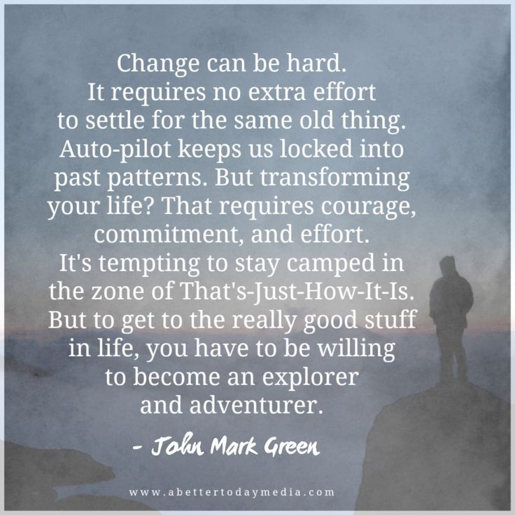 Quote from the article Why It's Tempting To Settle For An Unhappy Life by John…