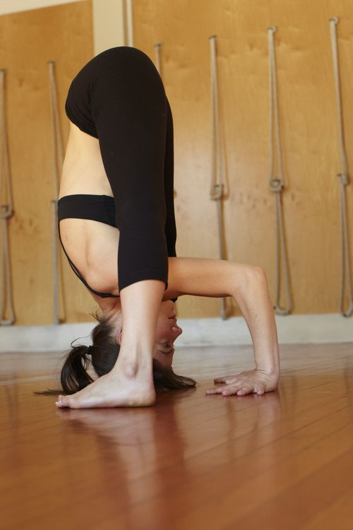Body Stretching Yoga Exercises For Beginners…..how cool would it be someday to be able to do this