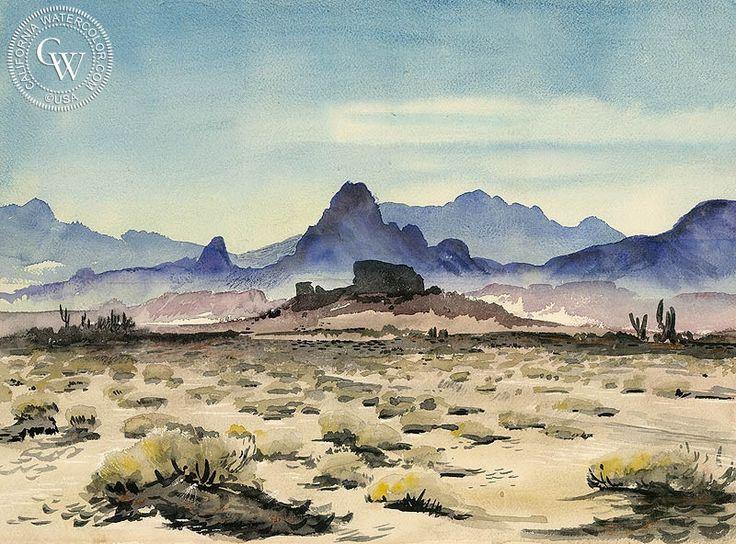 17 Best Ideas About Watercolor Landscape Paintings On