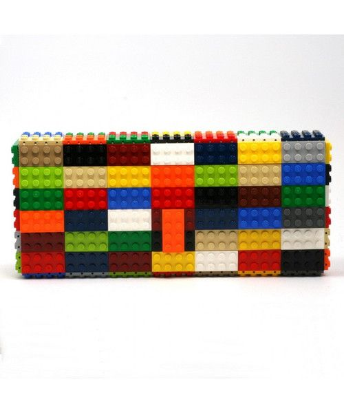 AGABAG multicoloured statement clutch is handcrafted from LEGO bricks. It's the perfect talking point for day or evening looks and will hold just the essentials.