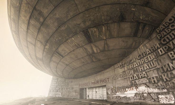 buzludzha before - an abandoned communist UFO in Bulgaria