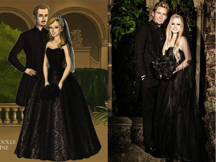 Wedding Day Avril Lavigne And Chad Kroeger By Nickelbackloverxoxoxdeviantart On DeviantART