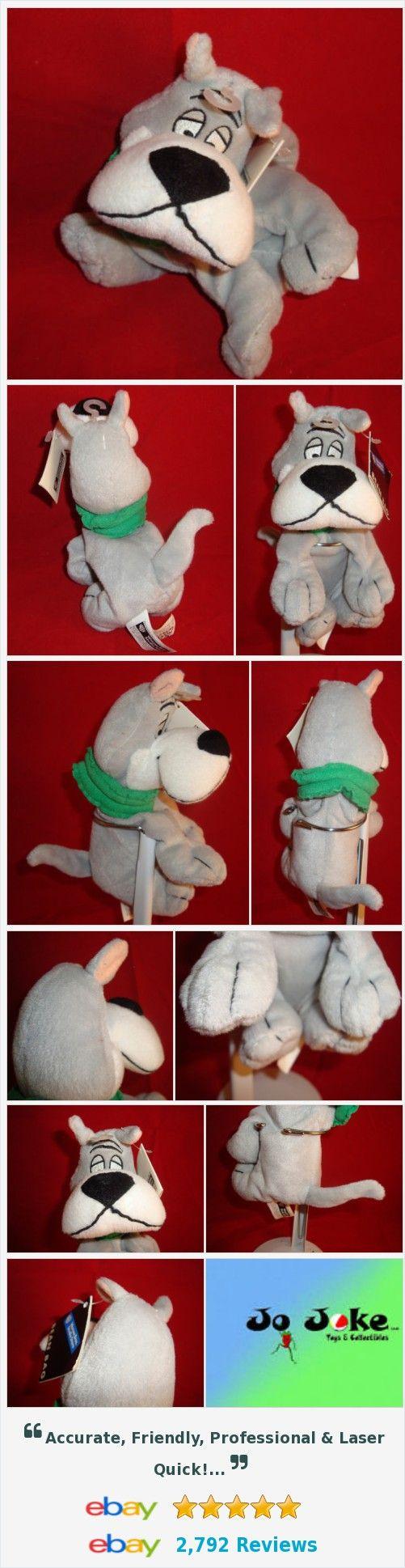 "WARNER BROS STUDIO STORE-THE JETSON'S DOG-ASTRO-BEAN PLUSH-8""-NEW/TAGS-RARE-COOL"