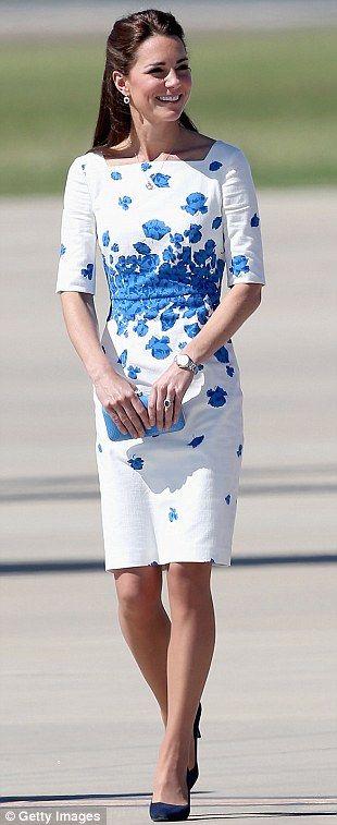 L k bennett white dress maternity