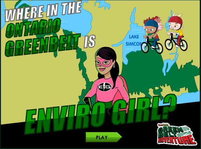 Grade 3, B3.3 http://www.tvokids.com/games/whereontariogreenbeltenvirogirl
