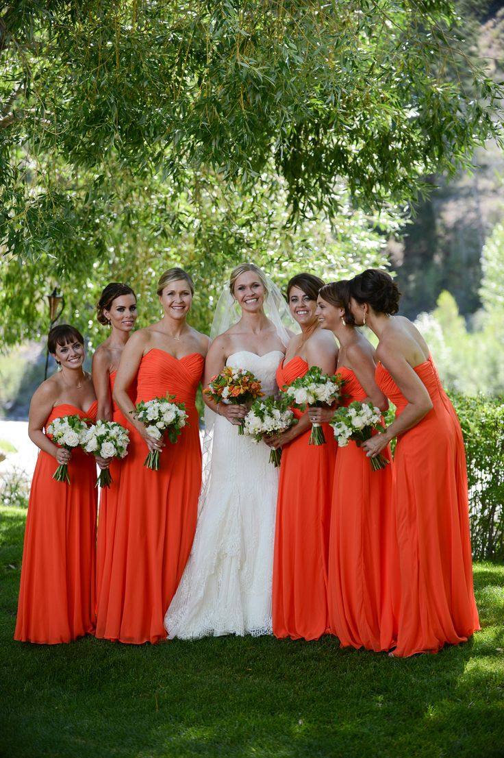 664 best bridesmaid dresses images on pinterest bridesmaids vibrant private garden wedding at sun valley idaho ombrellifo Images