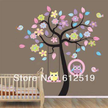 Decoración árbol para habitación niños