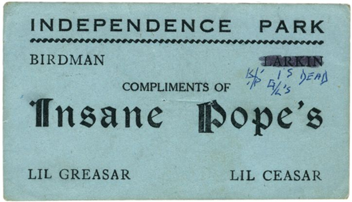 Graphic design gems: Chicago gang business cards from the 1970s and 80s
